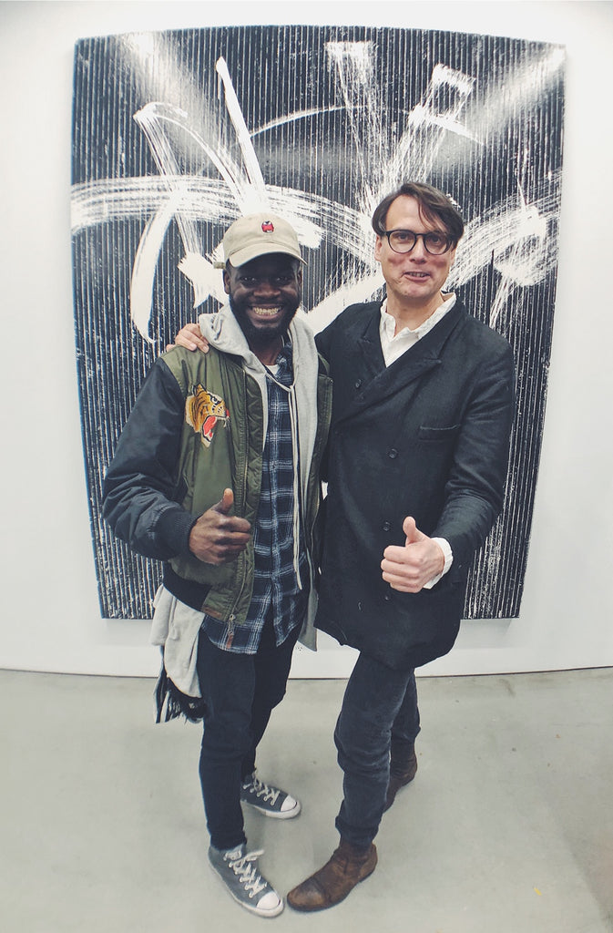 Gregor Hildebrandt and Vanache, Perrotin New York