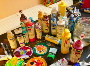 Creative madness, creative mess =total JOY!