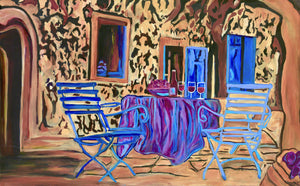 BLUE CHAIRS - Limited Edition