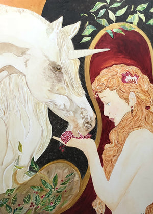 FEEDING THE UNICORN - Original Artwork