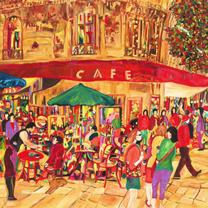LE CAFE - Original Artwork
