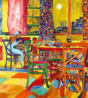 LE PETIT CAFE - Original Artwork