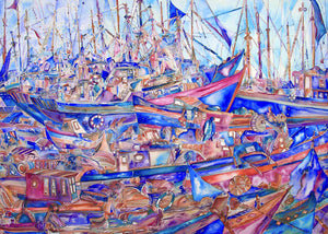 PLAISIRS MARINS - Artist's Proof