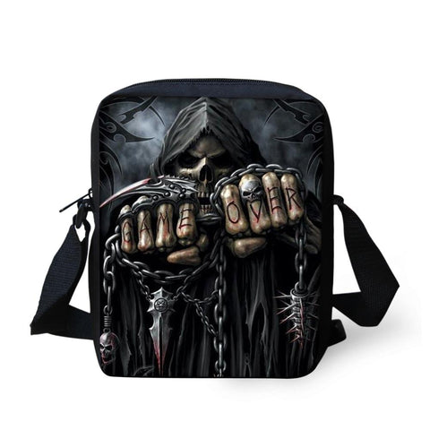Casual Game Over Bag Skull