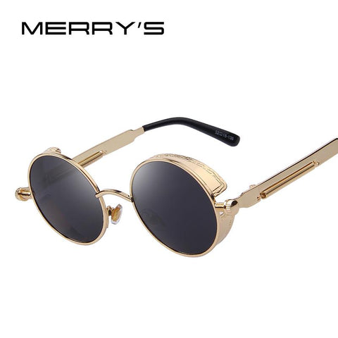 MERRY'S Gothic Steampunk Sunglasses