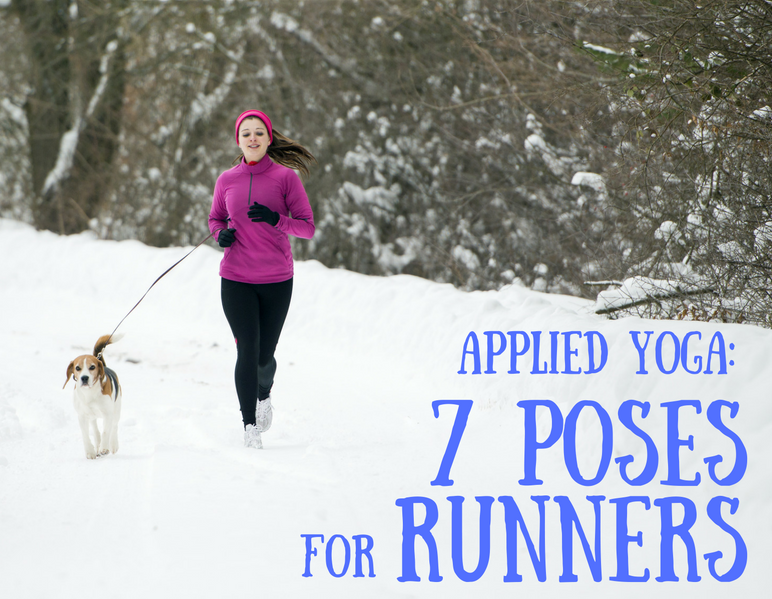 Applied Yoga: 7 Poses for Runners (and Turkey Trotters!)