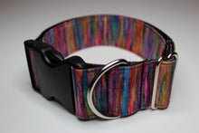 "Buckle Collar in ""Fuzzy Rainbow"""