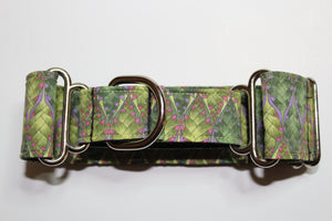 "Sighthound Collar in ""Pretty Green"""