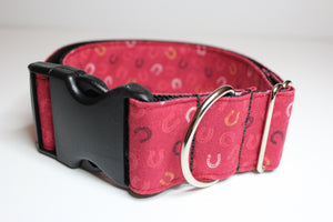 "Buckle Collar in ""Horseshoes"""