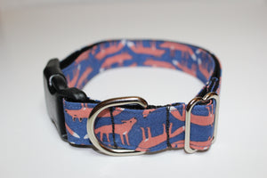 "Buckle Collar in ""Foxy"""