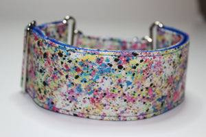 "Sighthound Collar in ""Paintworks"""