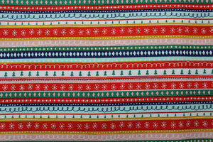 "Multi-way Lead in ""Christmas Stripes"""