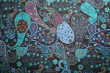 "Buckle Collar in ""Blue Paisley"""