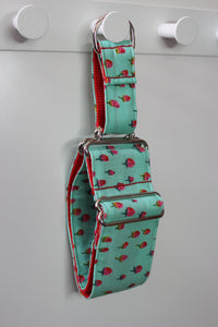 "Sighthound Collar in ""Strawberries"""