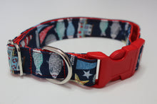 "Buckle Collar in ""Nautical"""