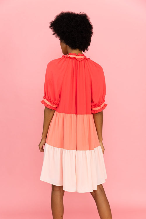 Isabelle Dress | Rose Mix