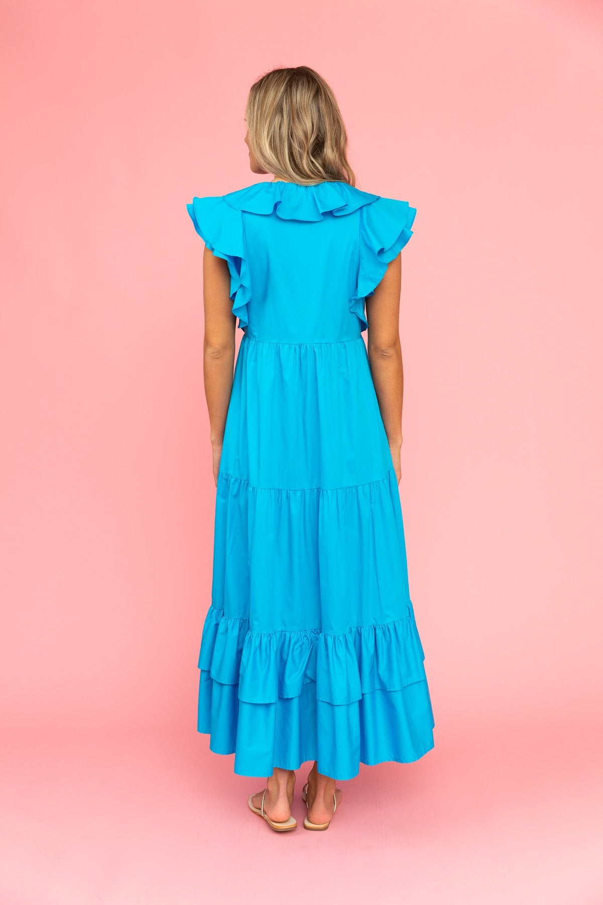 Willow Dress | Blue Lagoon