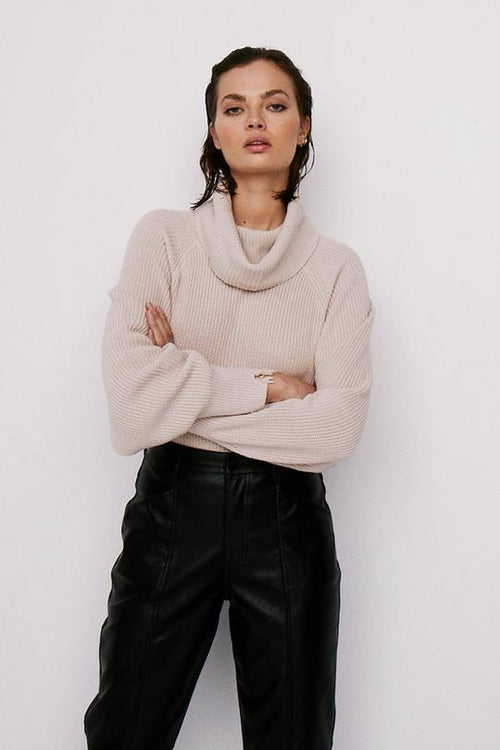 Hadley Turtleneck Sweater | Dove