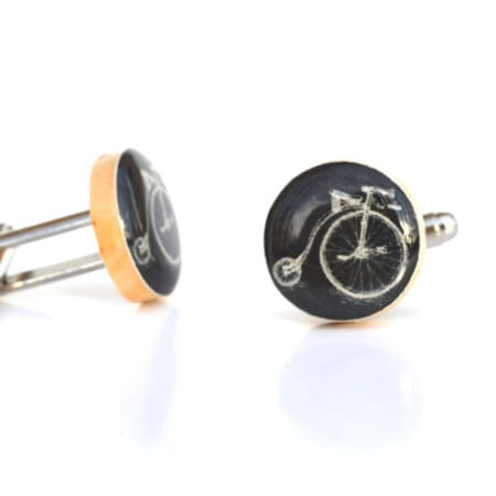 Wood Cufflinks - Multiple Options