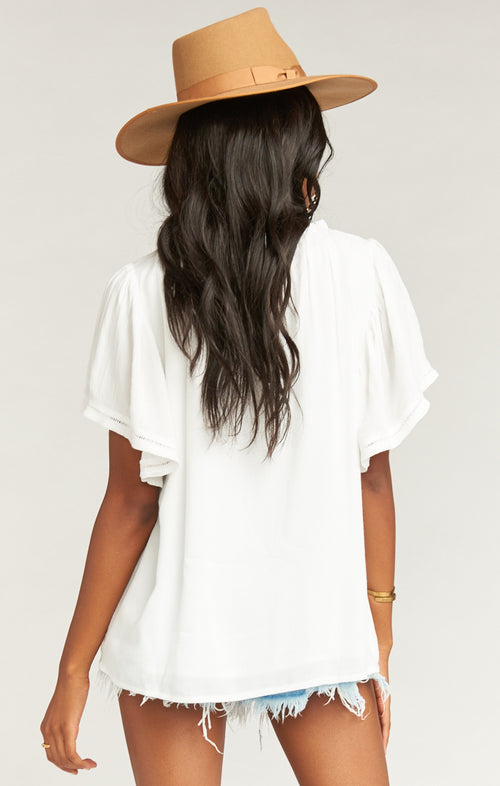 Cheyenne Top | White