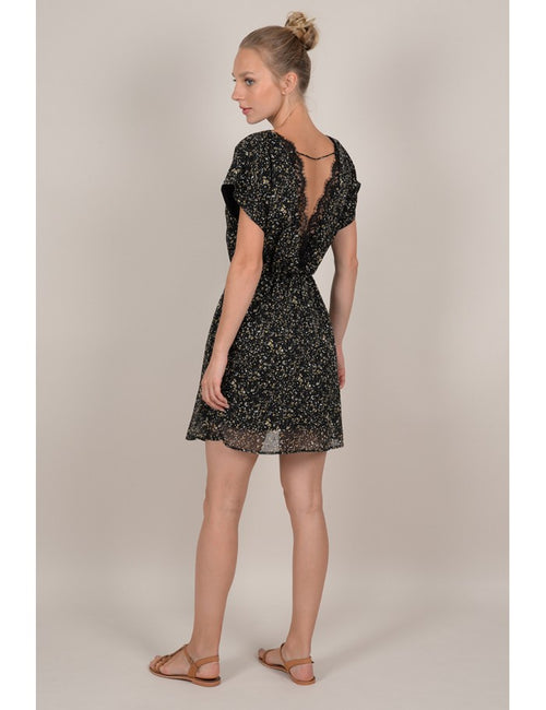Spotted Dress | Black