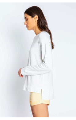 Long Sleeve Top | Heather Gray