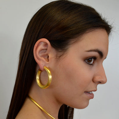 Chambord Hoop Earrings | Gold