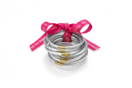 All Weather Bangles | Silver
