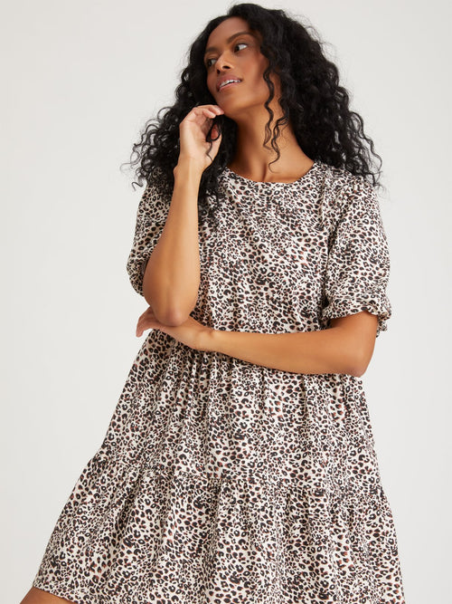 All Day Dress | Air Leopard