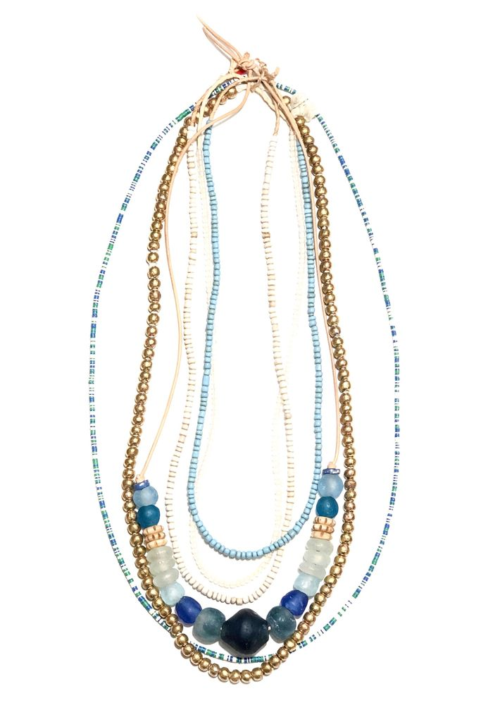 T&T Lagoon Layer Necklace Set