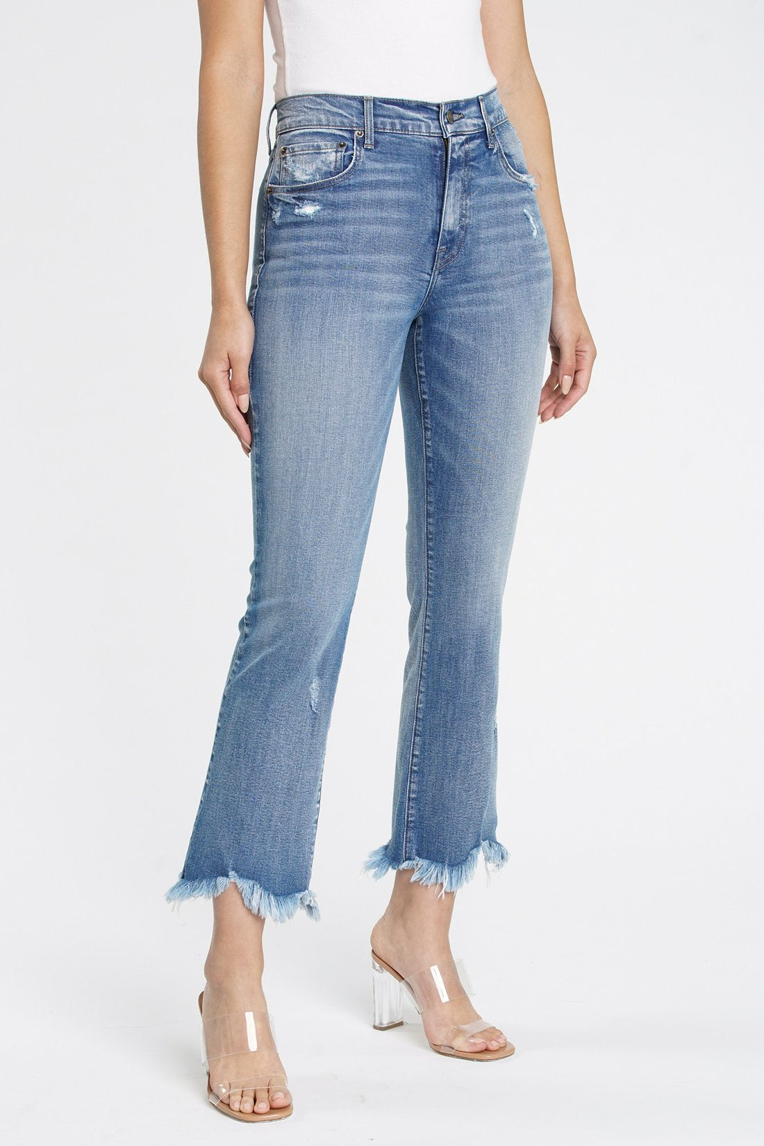 LENNON HIGH RISE CROP BOOT CUT | SHOCKWAVE