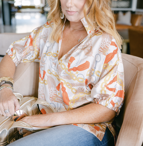 Poppy Top | Sporting Luxe