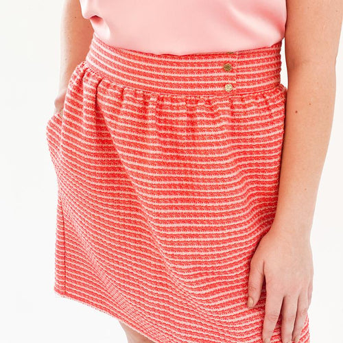 Audrey Skirt | Peppermint Tweed