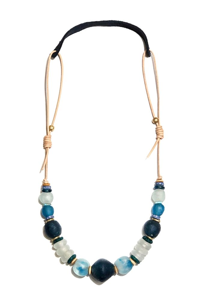 T&T Cord Classic Necklace | Lagoon