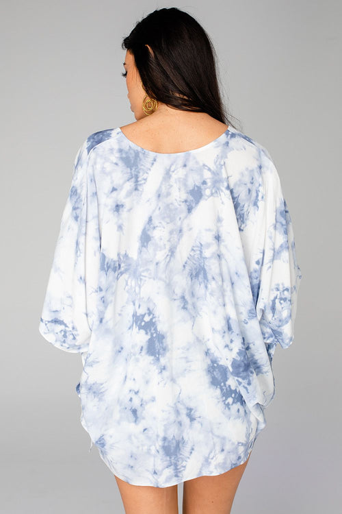 North Tunic | Blue Clouds