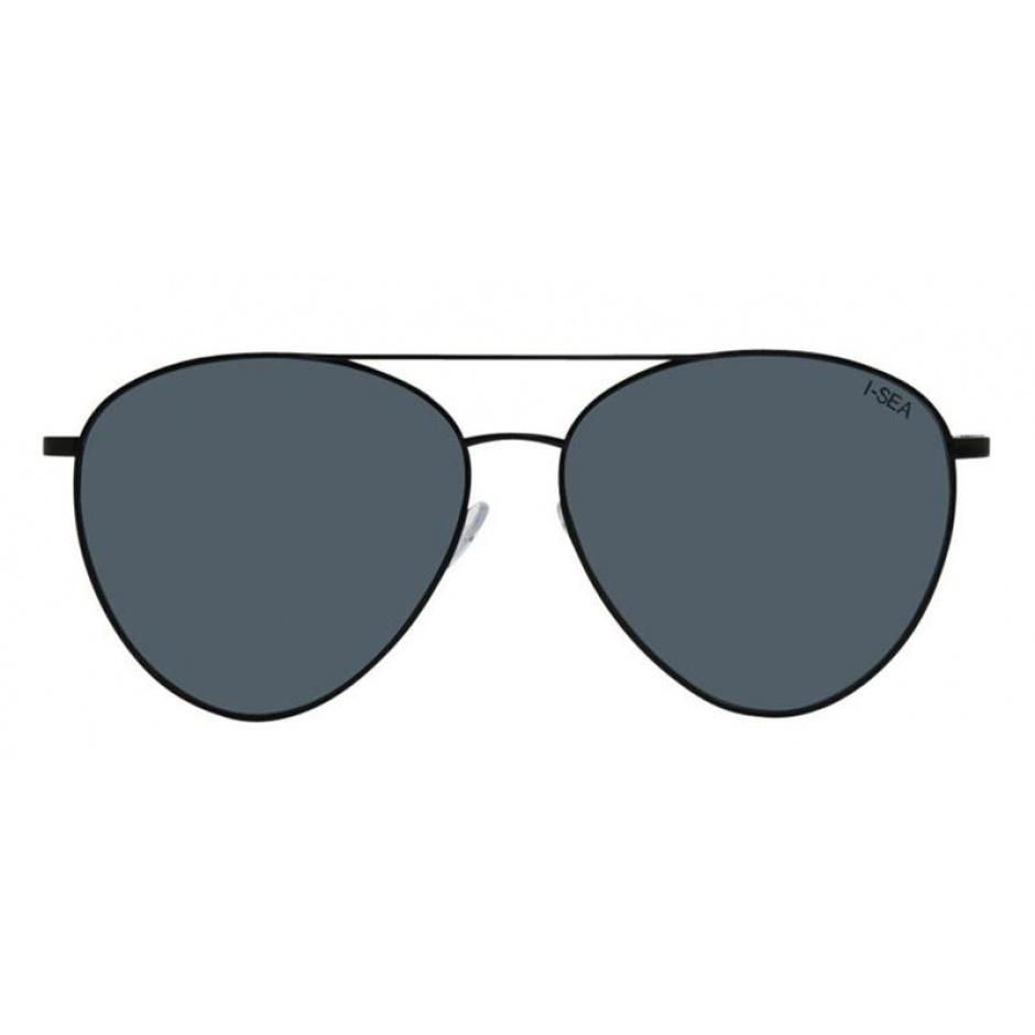 Charlie Sunglasses | Black/Smoke Polarized