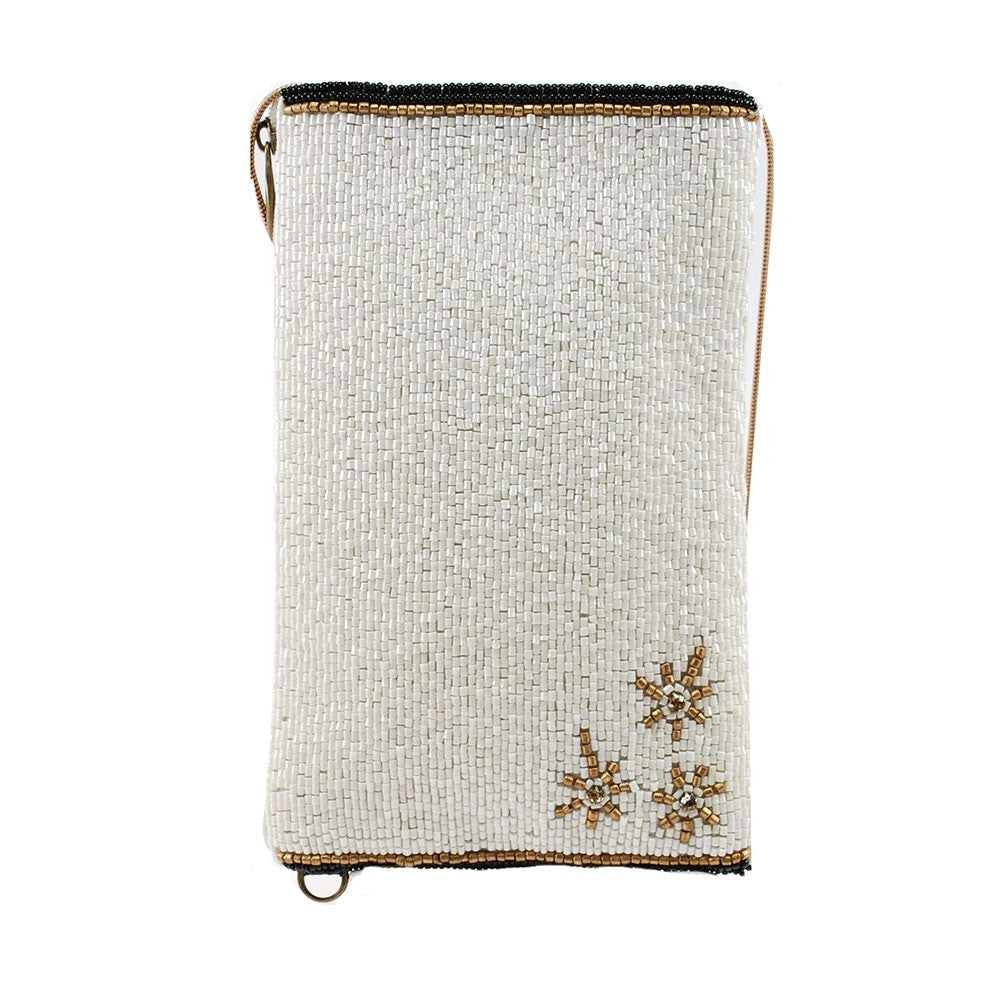 Vegas Beaded Crossbody Phone Bag