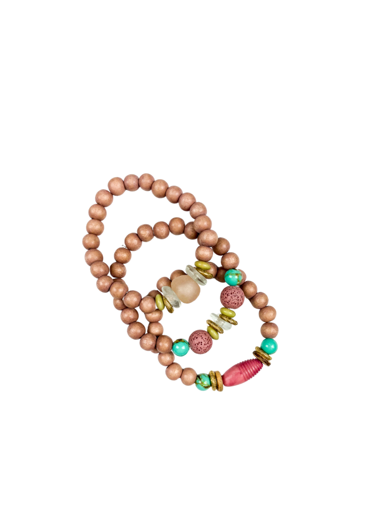 Trio Bracelet Set | Palm