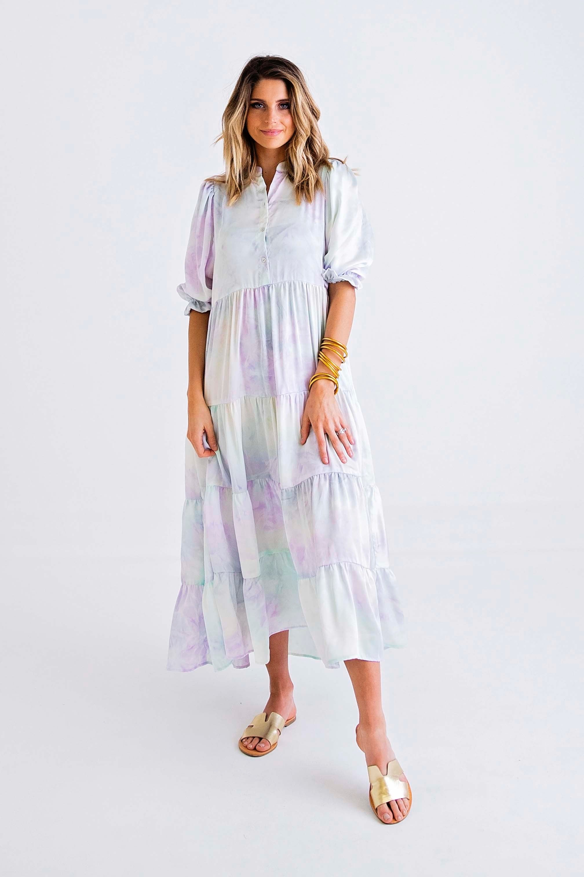 Kendra Dress | Dip Dye