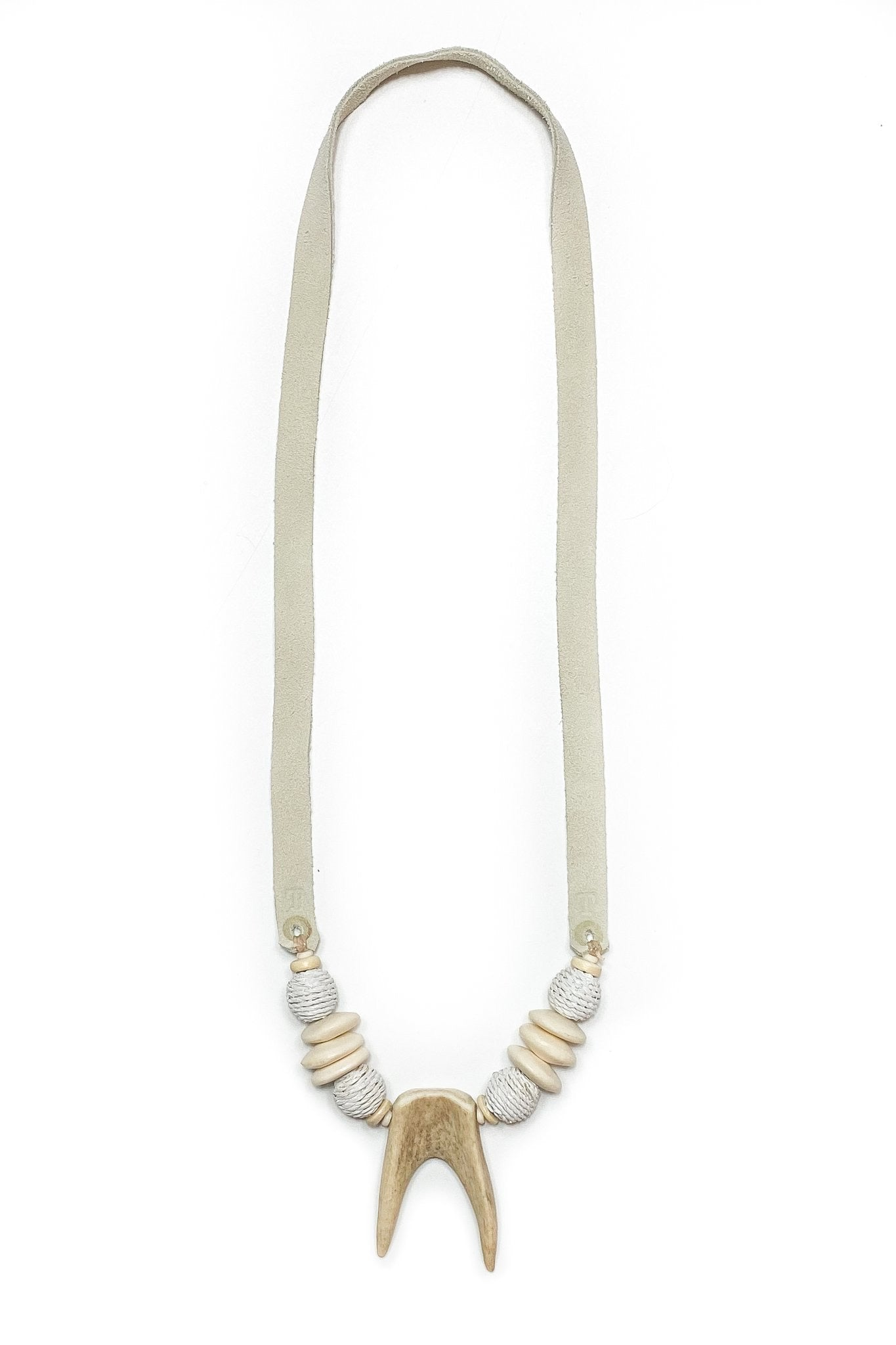 T&T Antler Slim Tip Necklace | Montauk