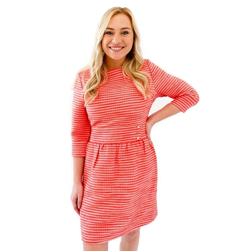 Audrey Dress | Peppermint Tweed