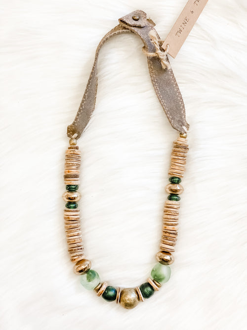 Twine & Twig Stacked Classic Necklace