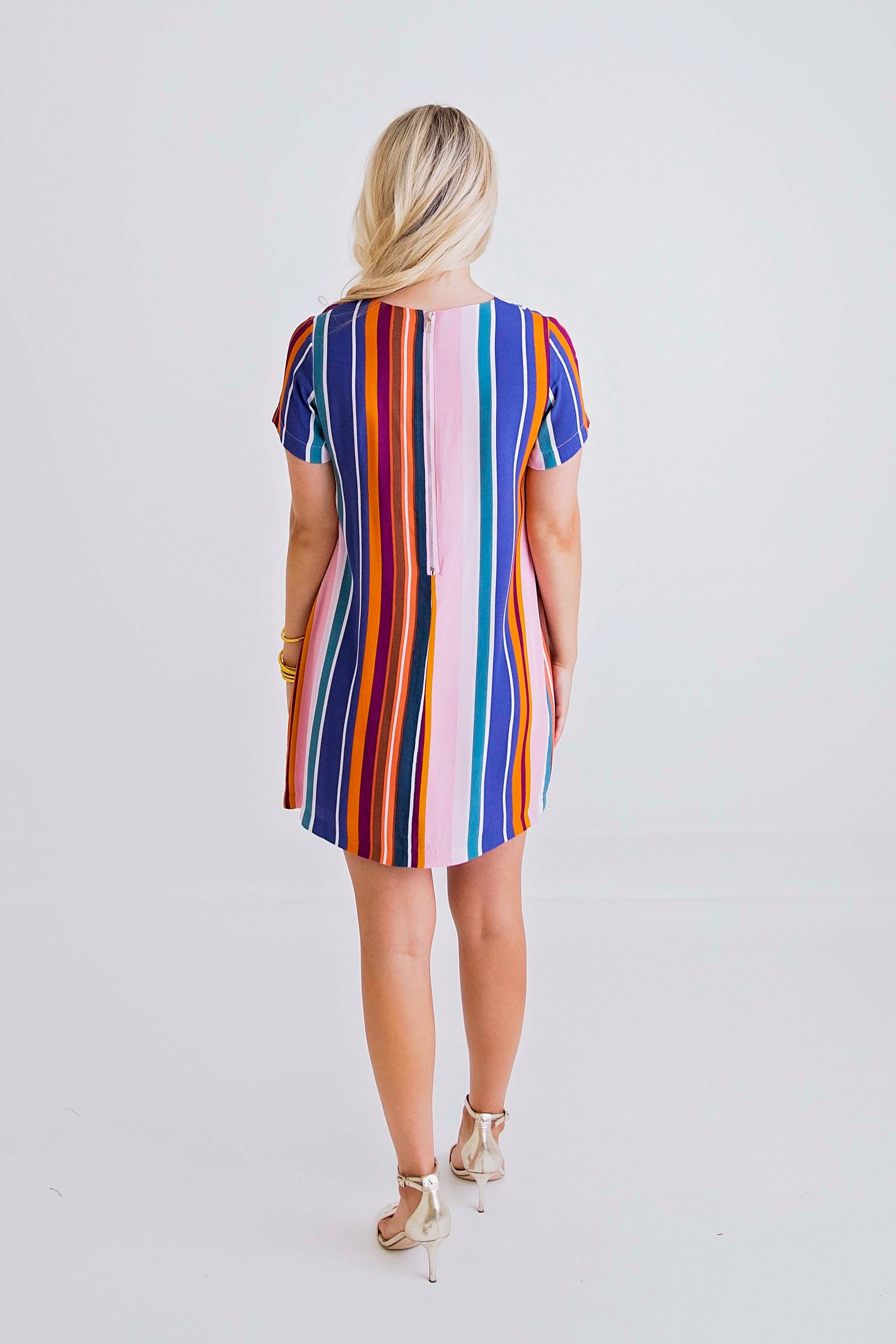 Savannah Stripe Dress | Multi