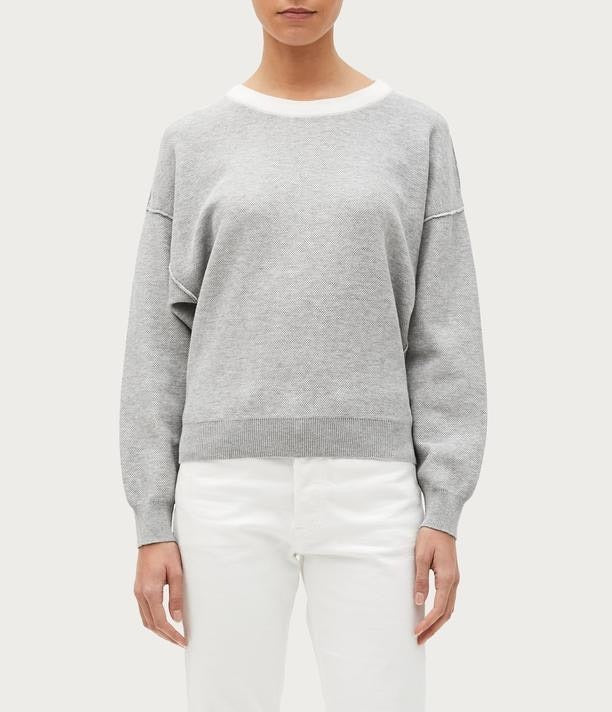 Steph Reversible Sweater | Gray