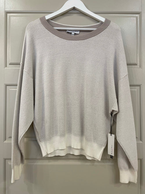 Steph Reversible Sweater | Taupe