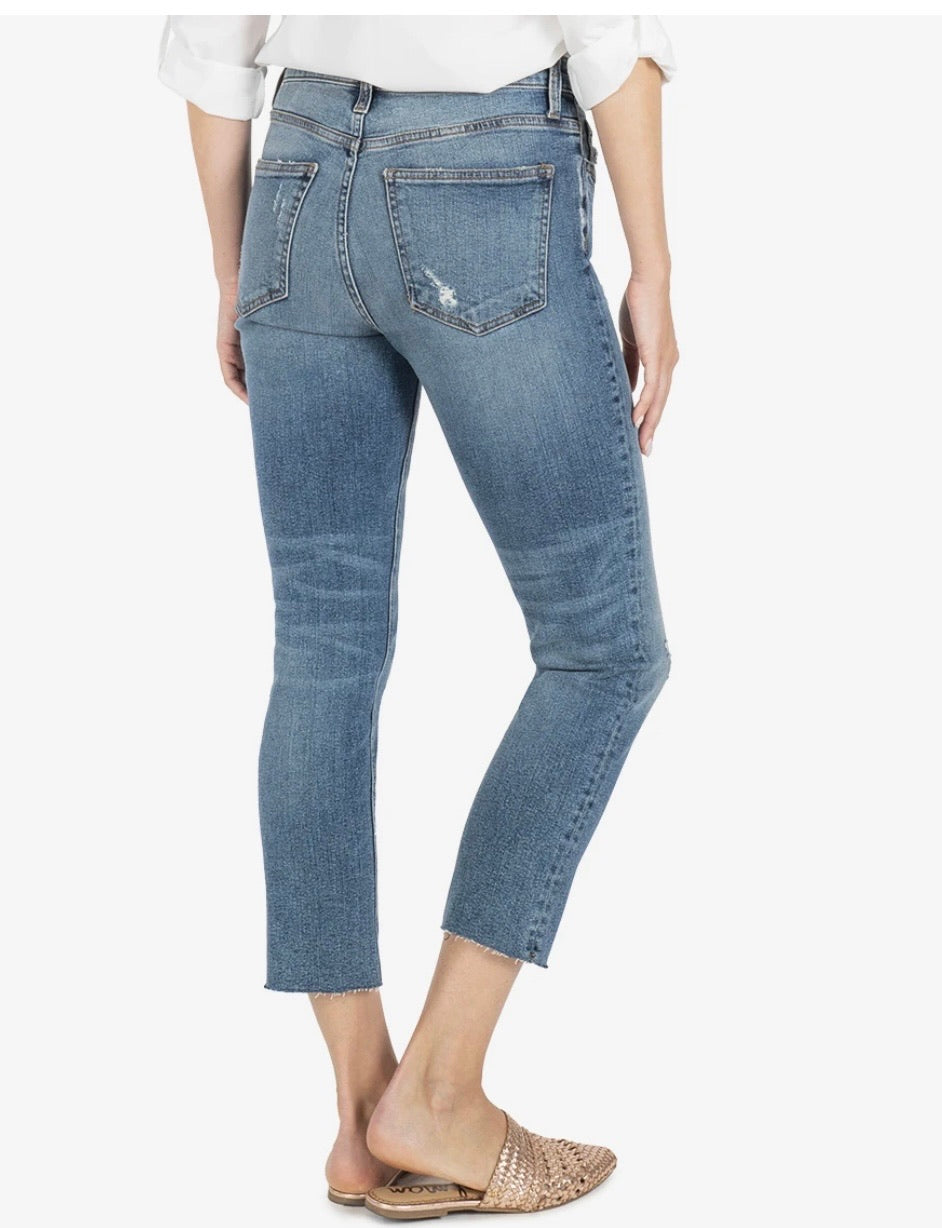Rachel High Rise Mom Jean | Noticeable Wash