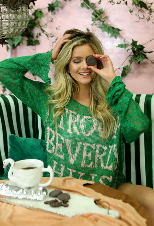 Troop Beverly Hills Sweater