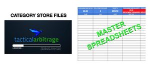 Online Arbitrage Business Pack - Tactical Arbitrage Template & Store Files