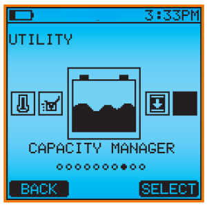 CAD5000_5200_CMNGR: Capacity Manager App