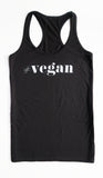 "Tank top ""#vegan"""